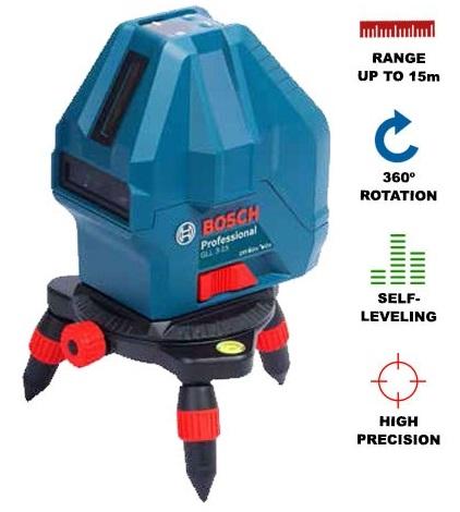 Máy laser 5 tia (4V-1H)