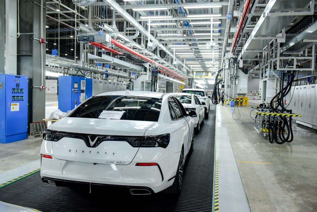 Tổ hợp xưởng sản xuất Ôtô Vinfast